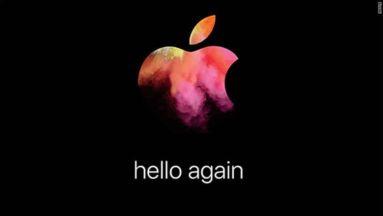 Apple lines up new event for next month
