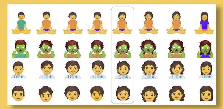 Google moving towards a more inclusive world with their emojis