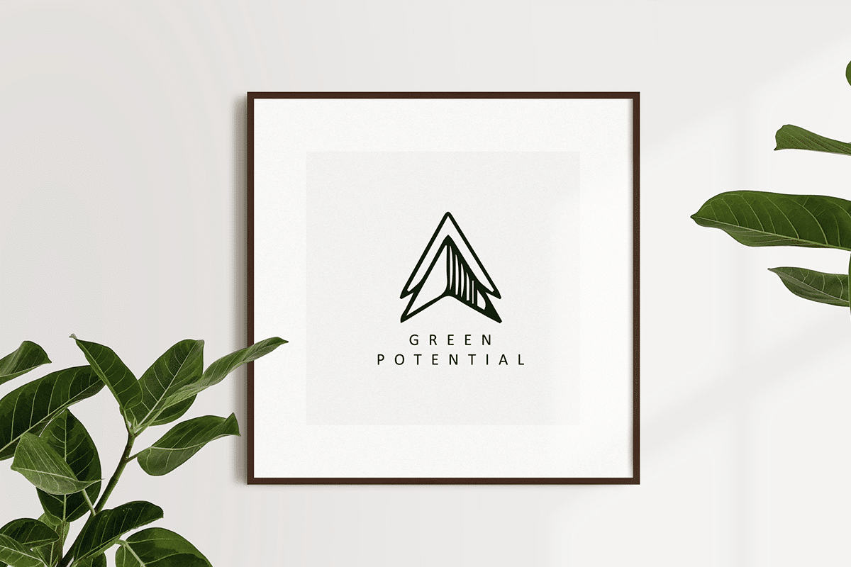 Green Potential -logo placement 2