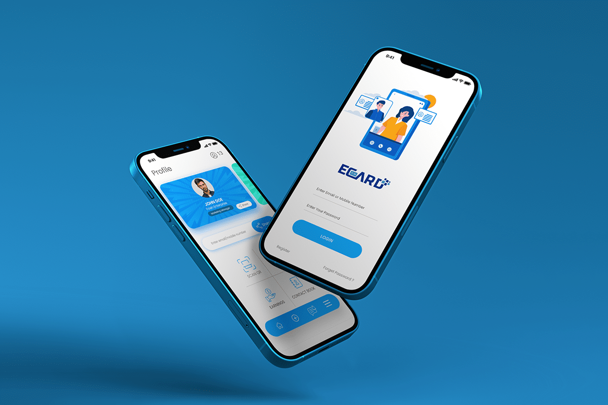 Electronic Business Card-Mobile App 3